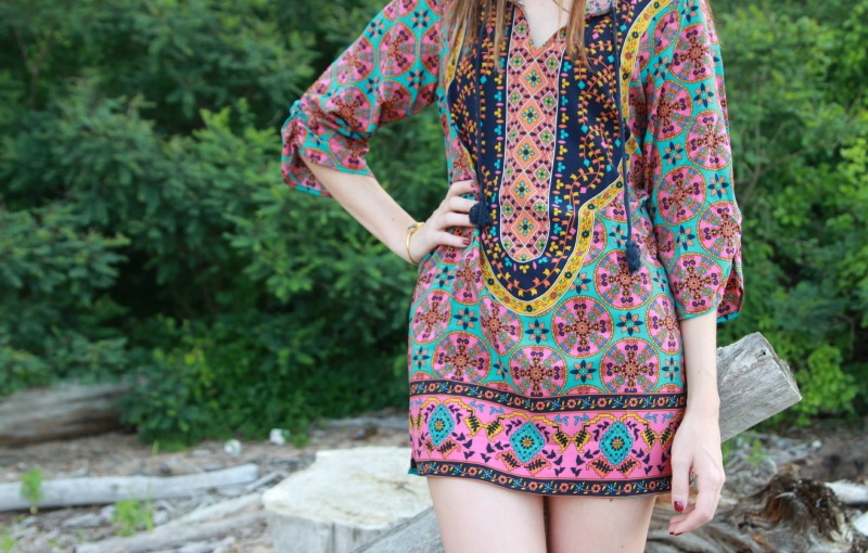 bold-print-dress-tribal