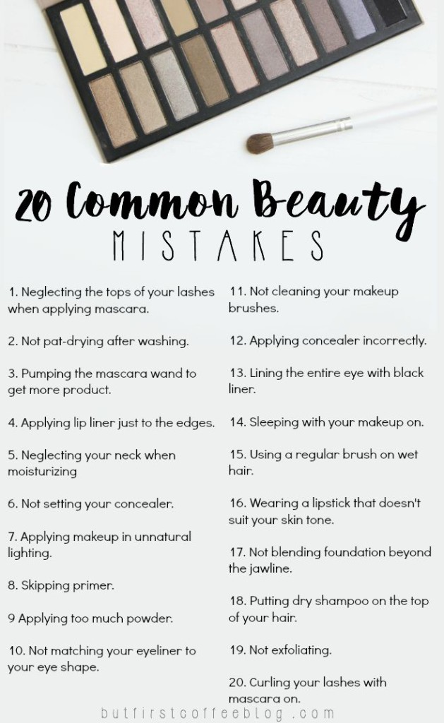 common-beauty-mistakes