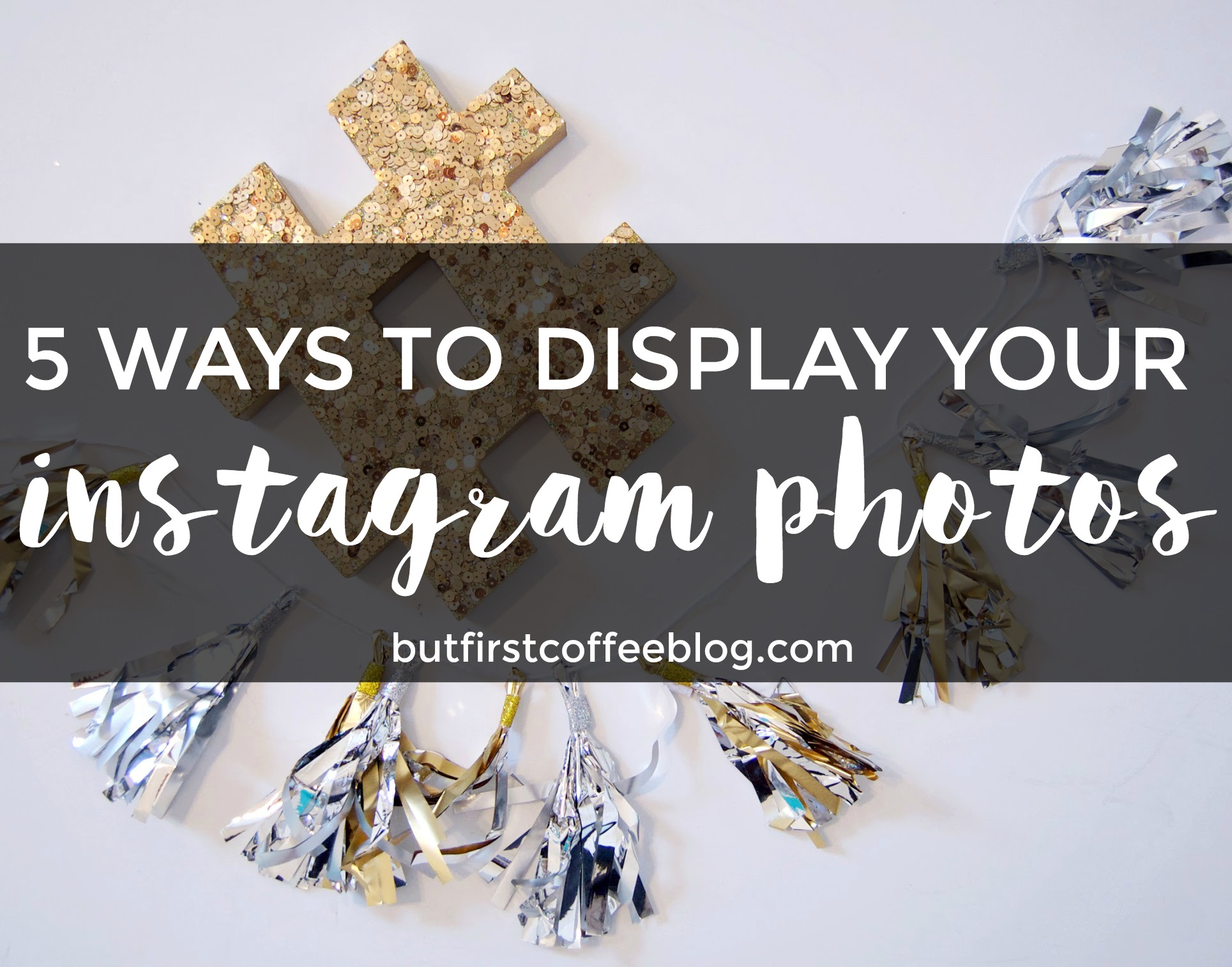 5 Great Ways to Display your Instagram Pictures Around Your House