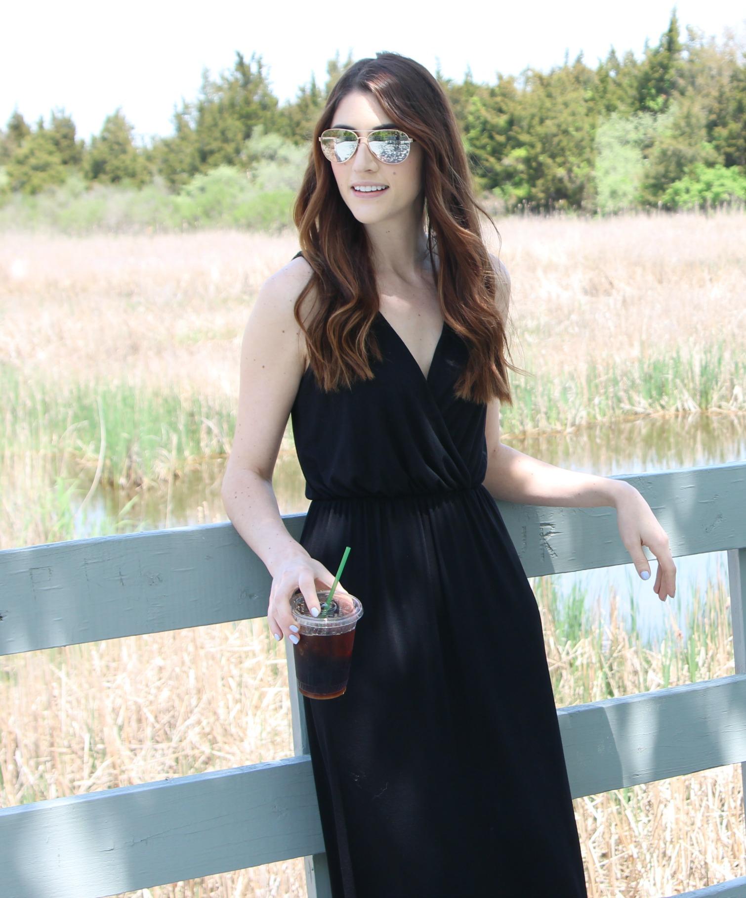Black Maxi - Connecticut Style Blogger