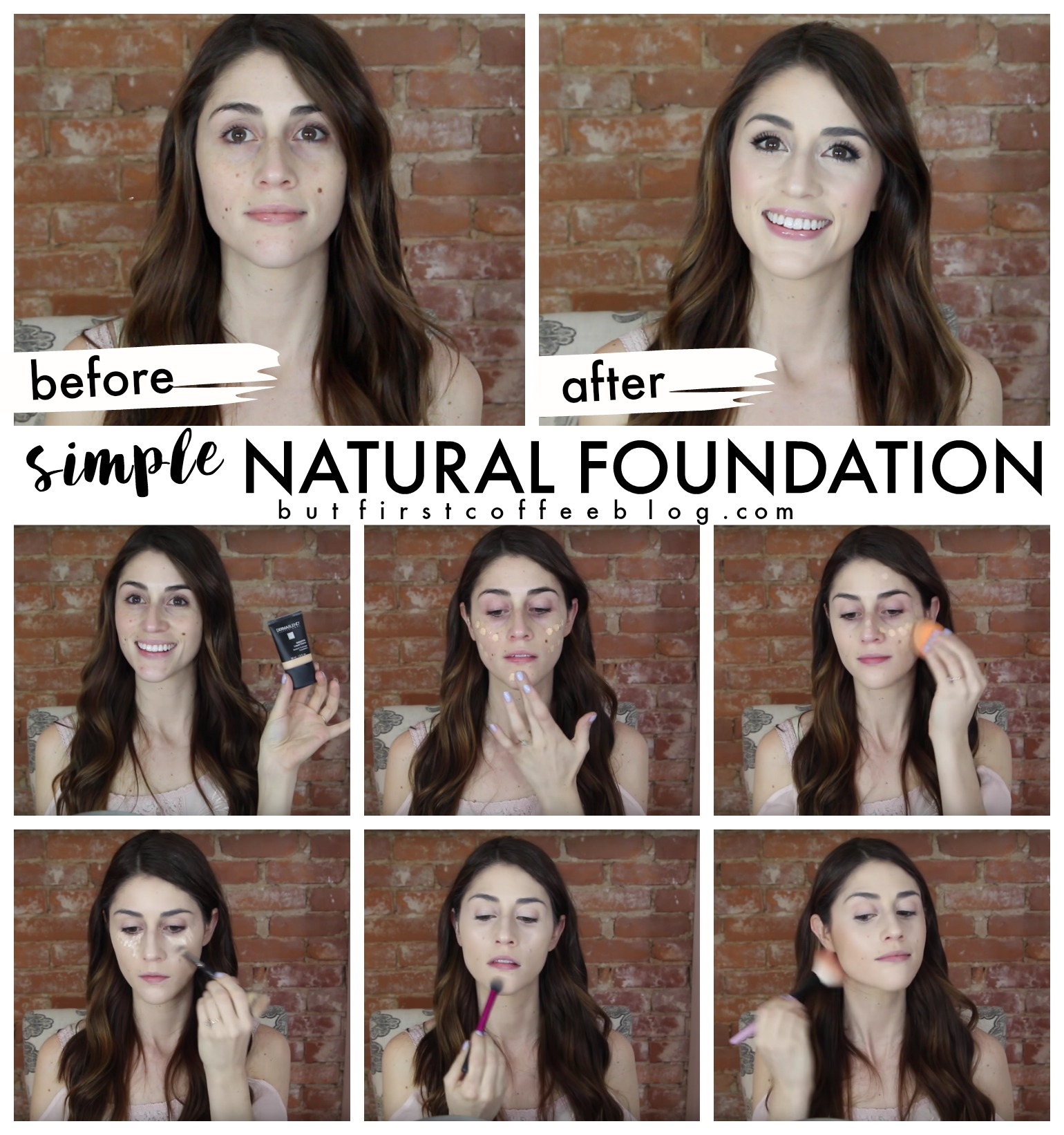 Natural Foundation Tutorial Simple But First Coffee Connecticut Lifestyle And Motherhood Blog