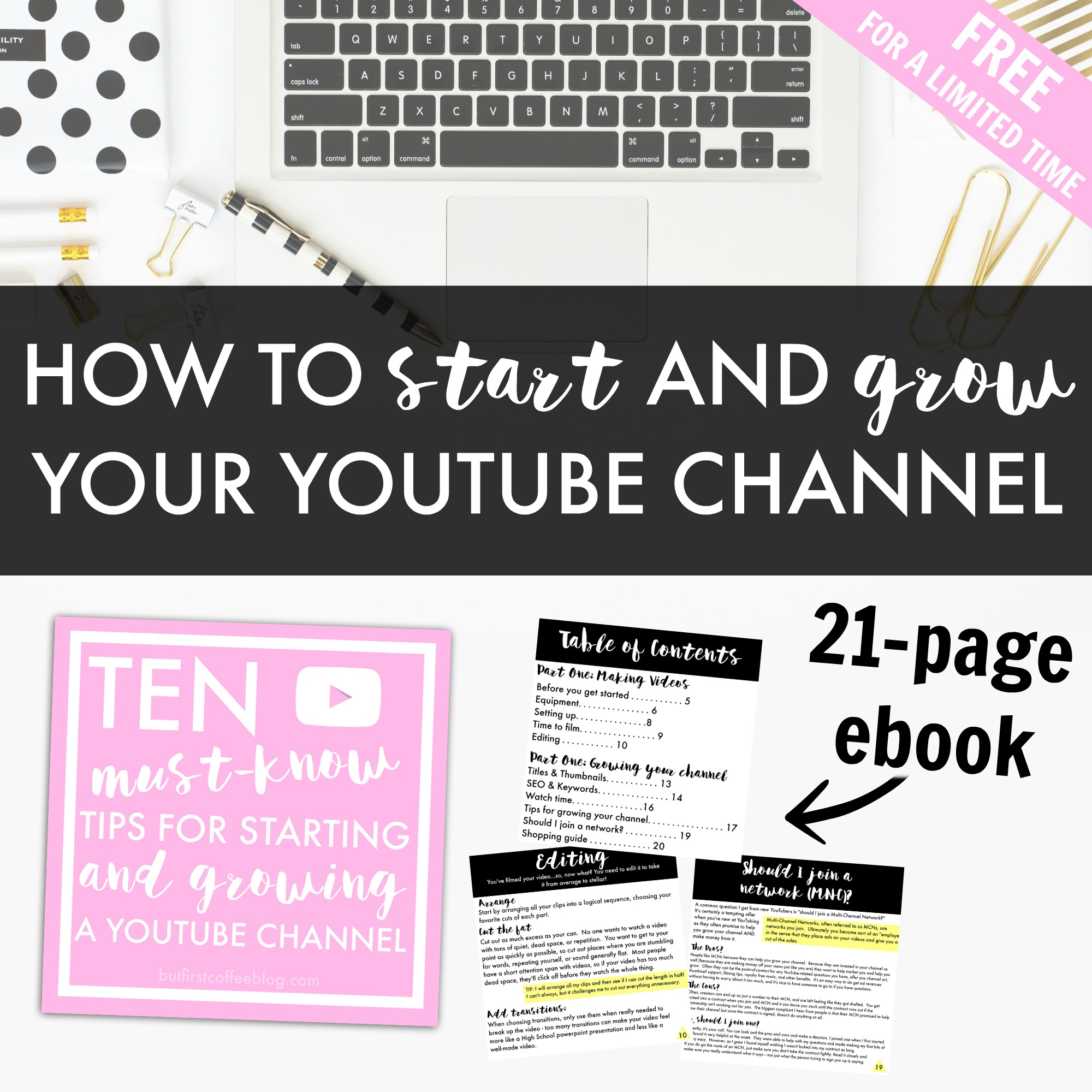 How to start and grow your youtube channel free ebook fandeluxe PDF