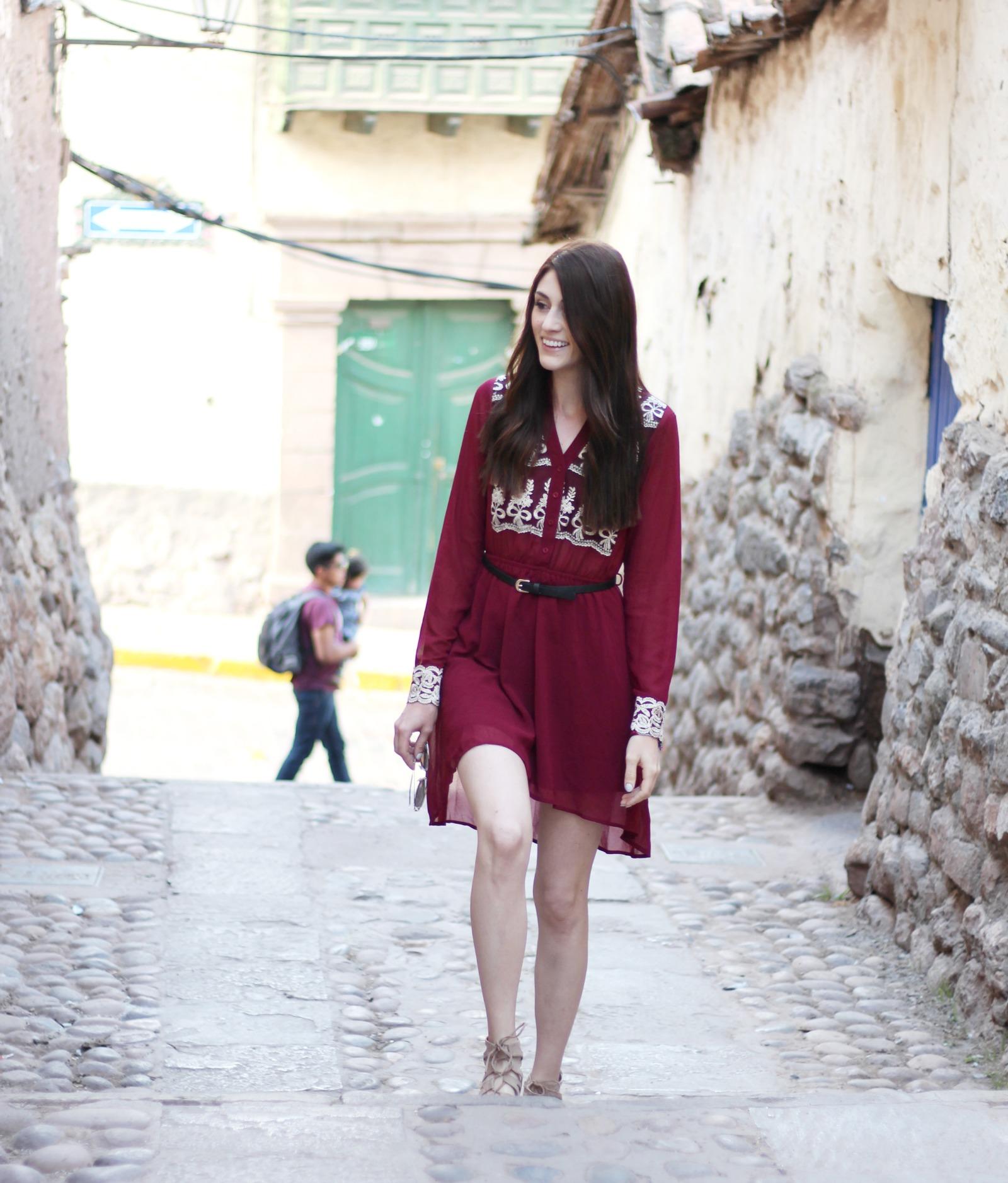 exploring-cusco-pink-blush-dress