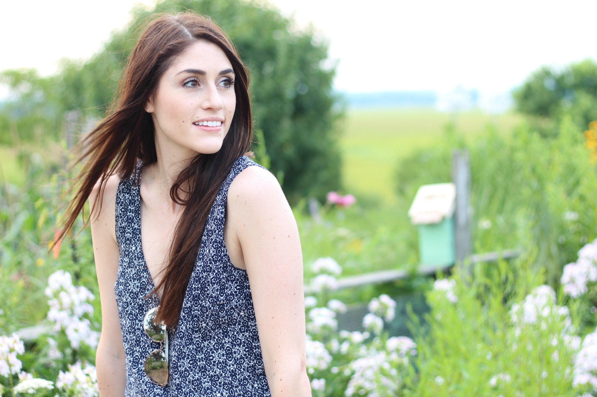 Printed Jumpsuit- But First Coffee Blog