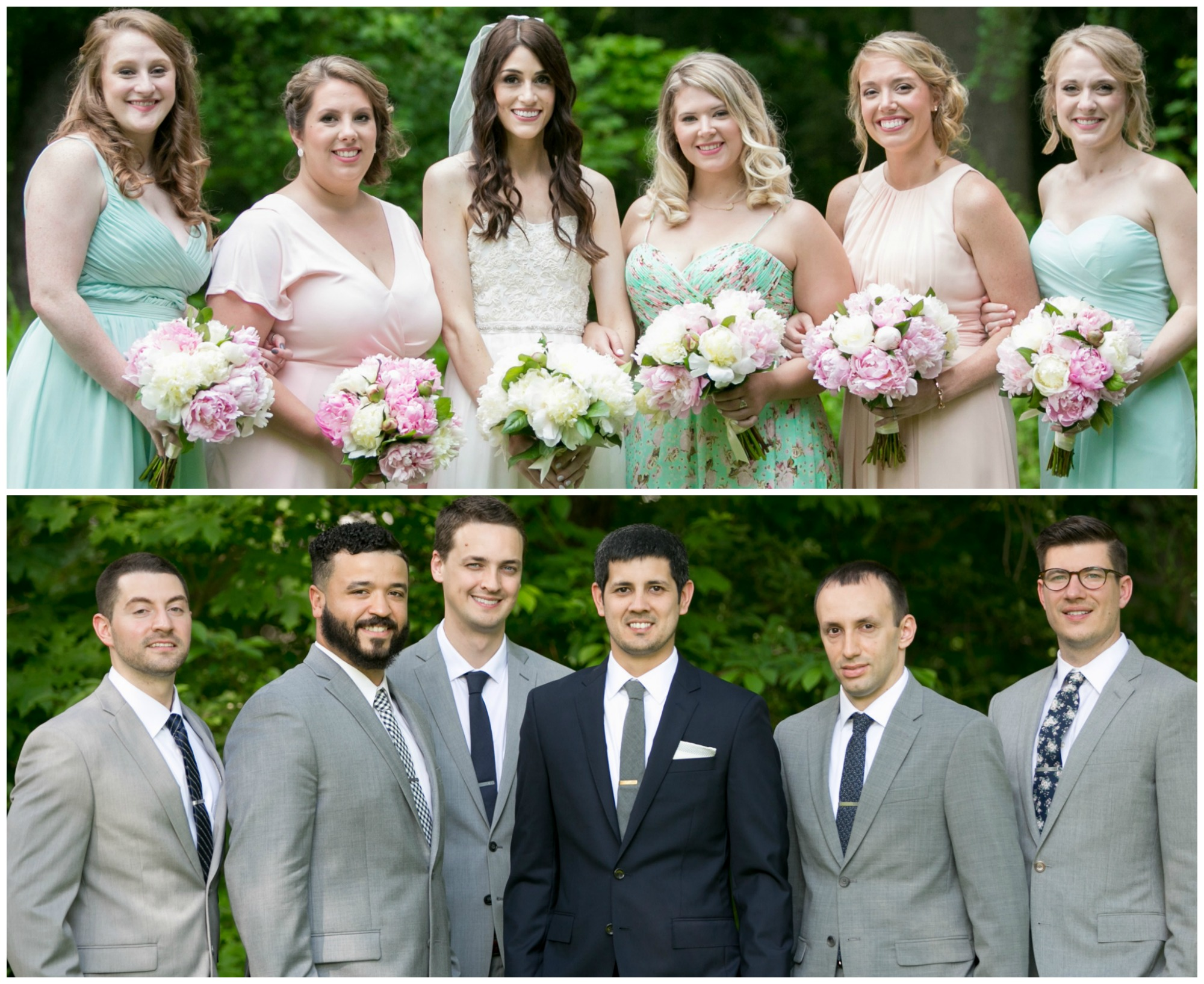 mismatched-wedding-party