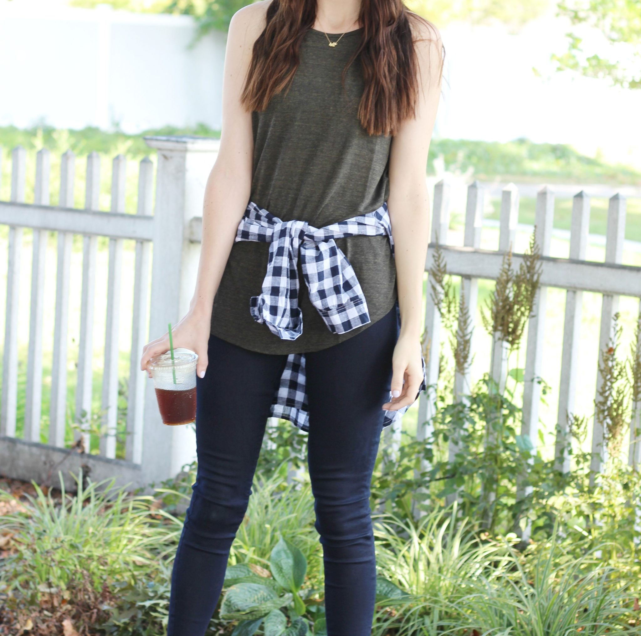 Fall outfit inspiration | spring to fall transition