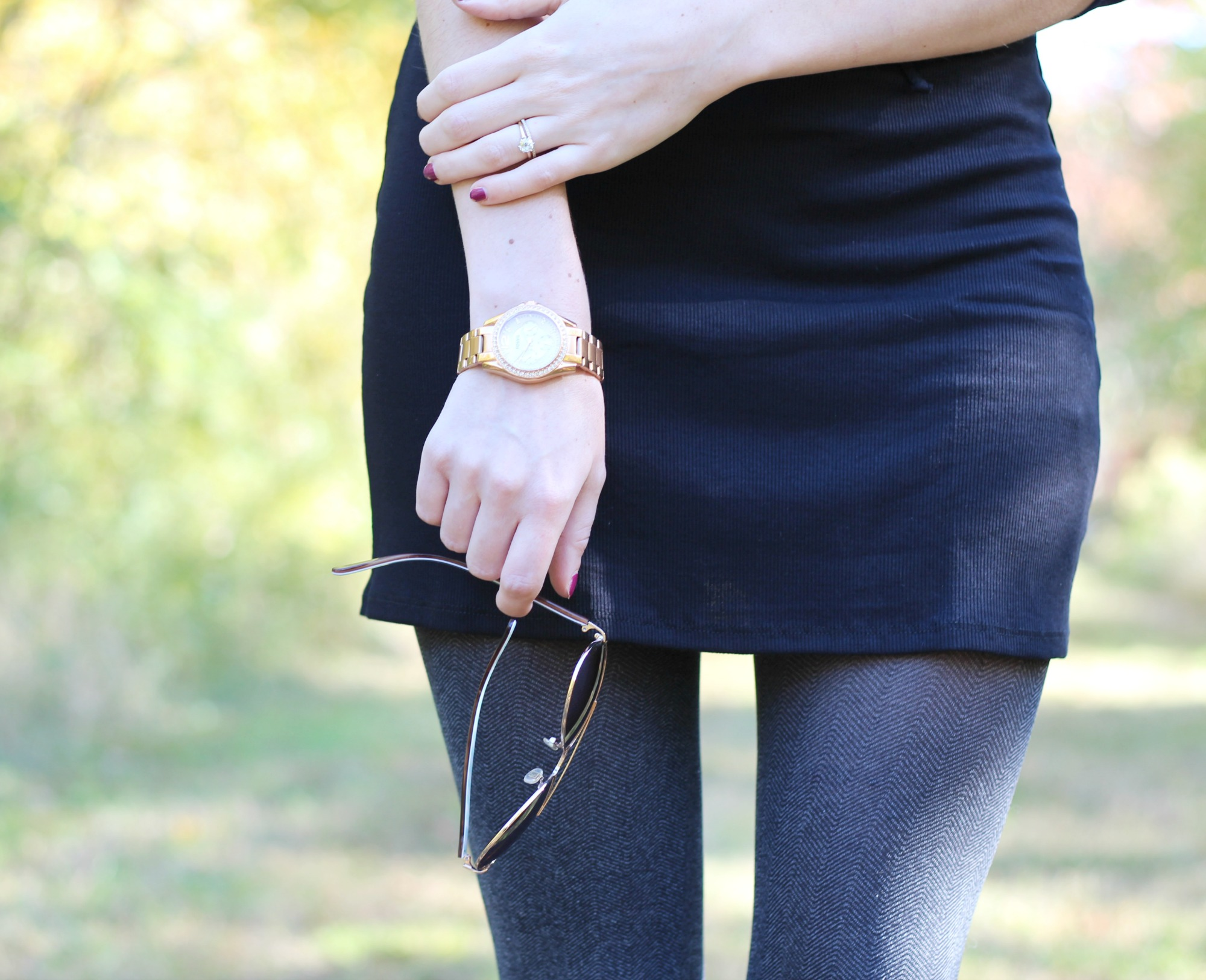 Fall Style | Rose Gold Watch