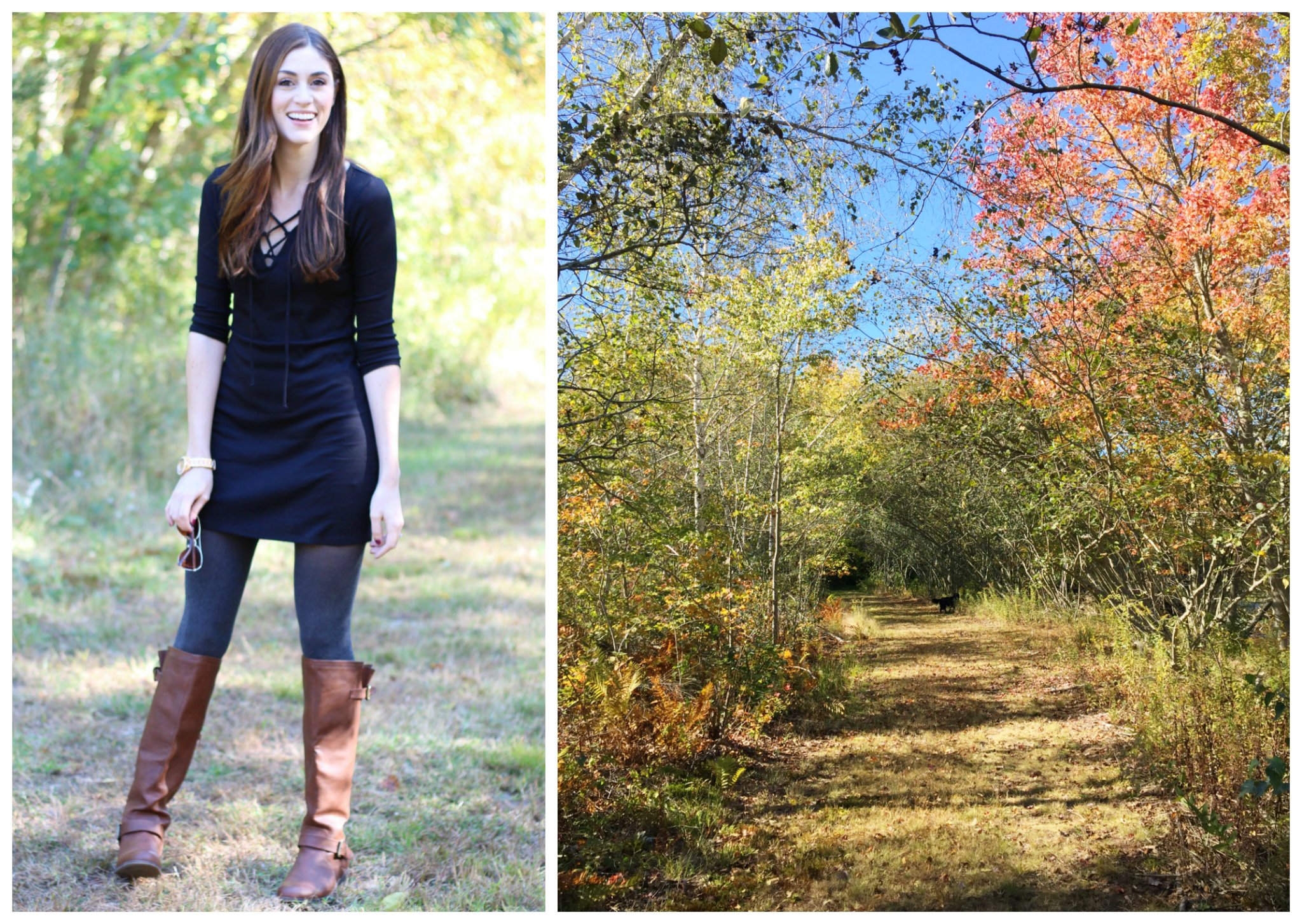 Fall Style | A Walk in The Woods | But First, Coffee blog