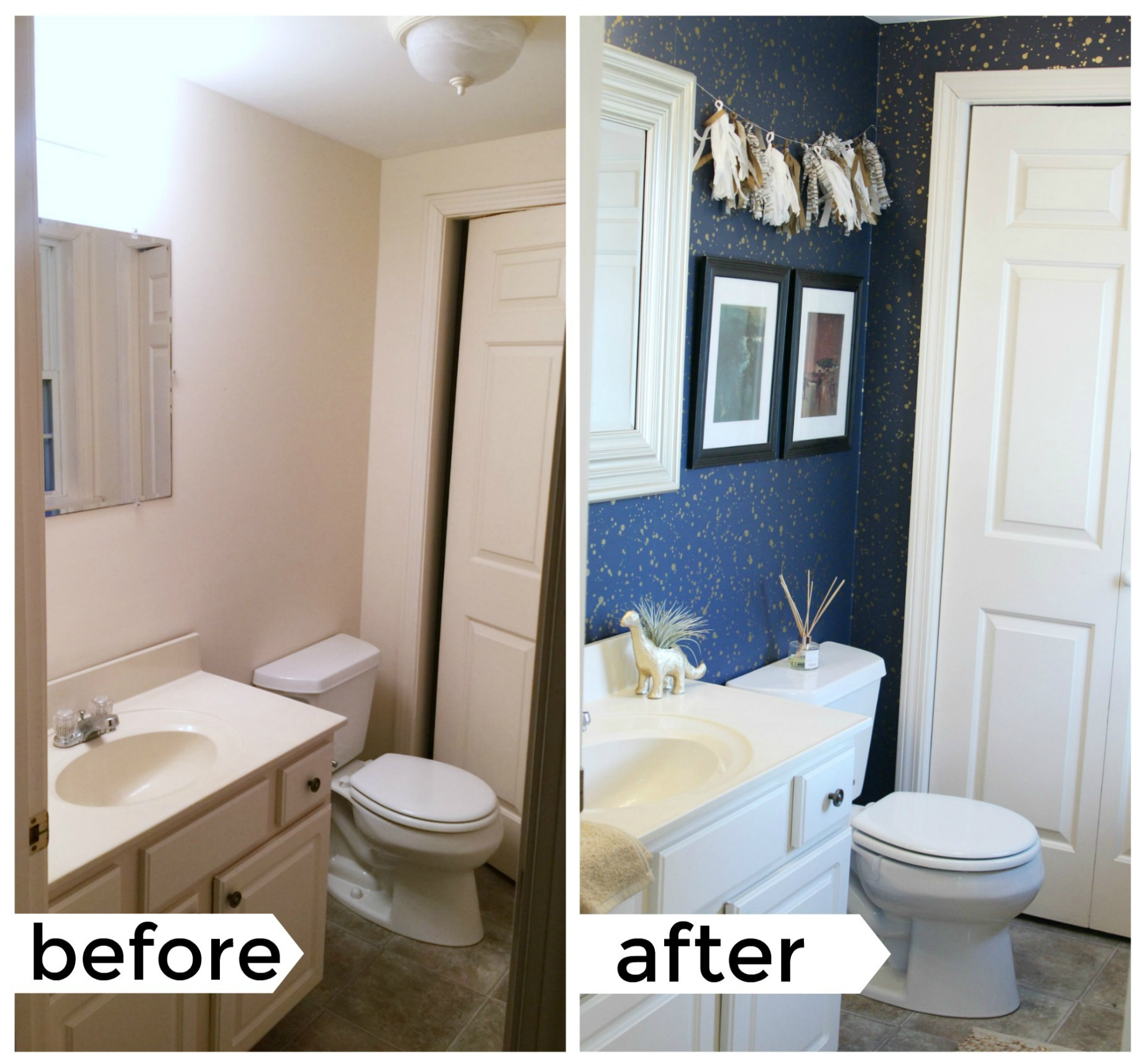 Apartment Bathroom Makeover: How To Decorate Your Rental Space? Bathroom Rental Decor