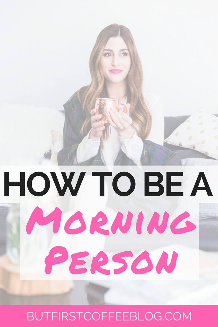 How to be a Morning Person | Learn how to love the mornings