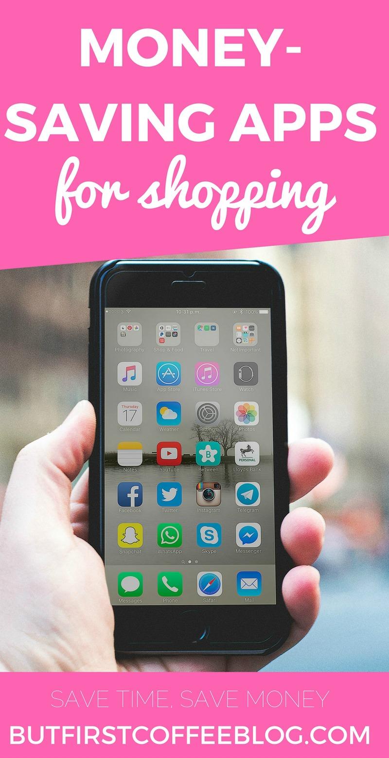 Money Saving Apps for Shopping   Money Shopping Hacks