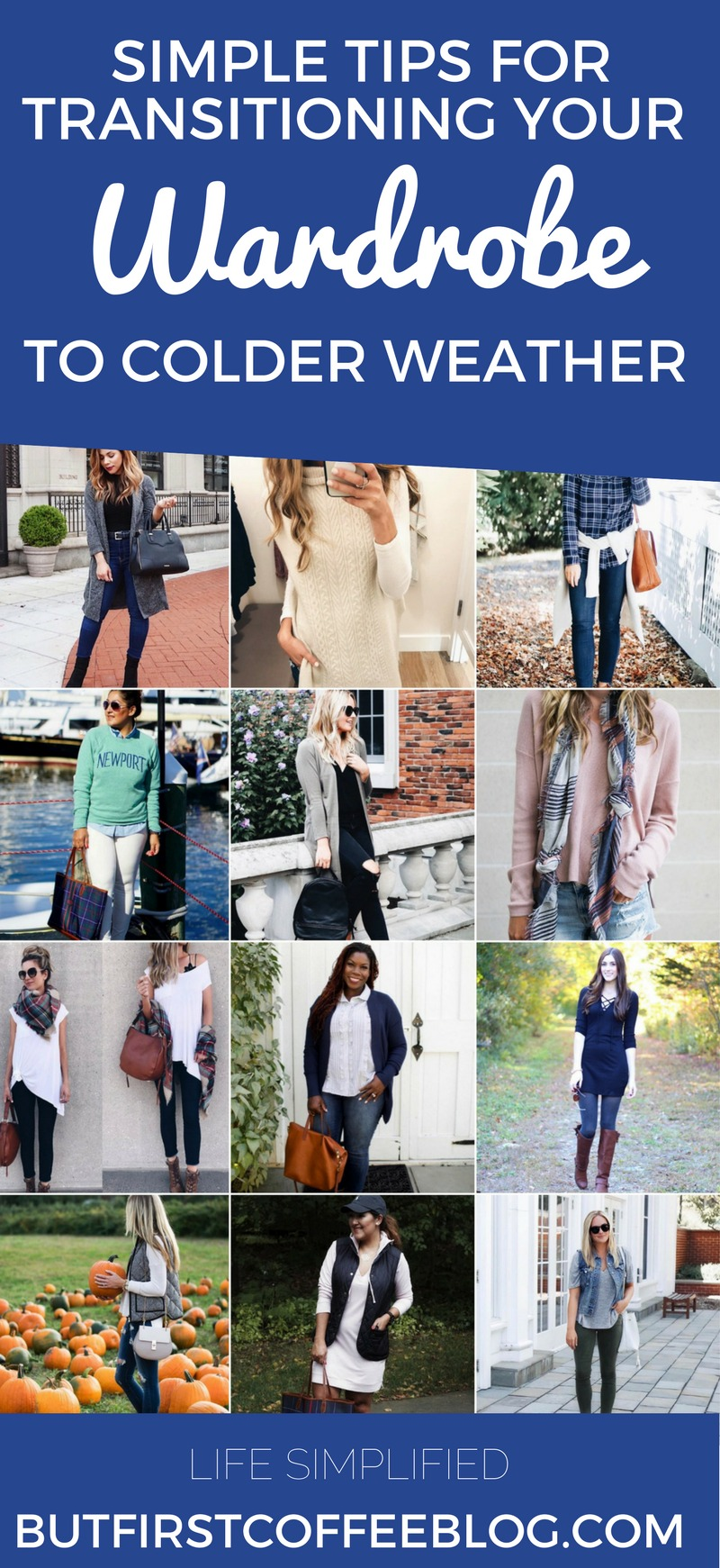OUTFIT TRICKS FOR TRANSITIONING TO COLDER WEATHER