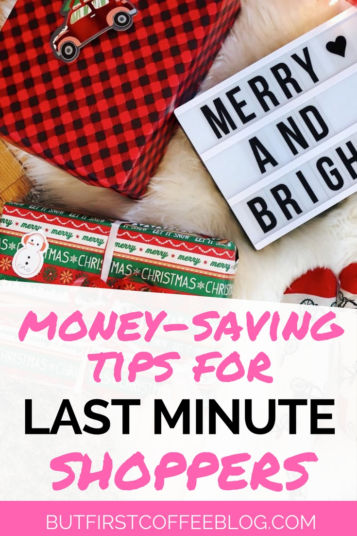 Last Minute Shopping Tips for Christmas