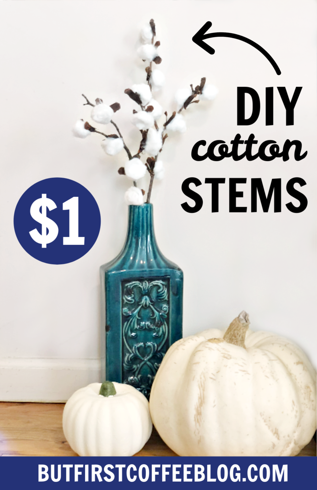 Diy Cotton Stems But First Coffee Connecticut Lifestyle And Motherhood Blog