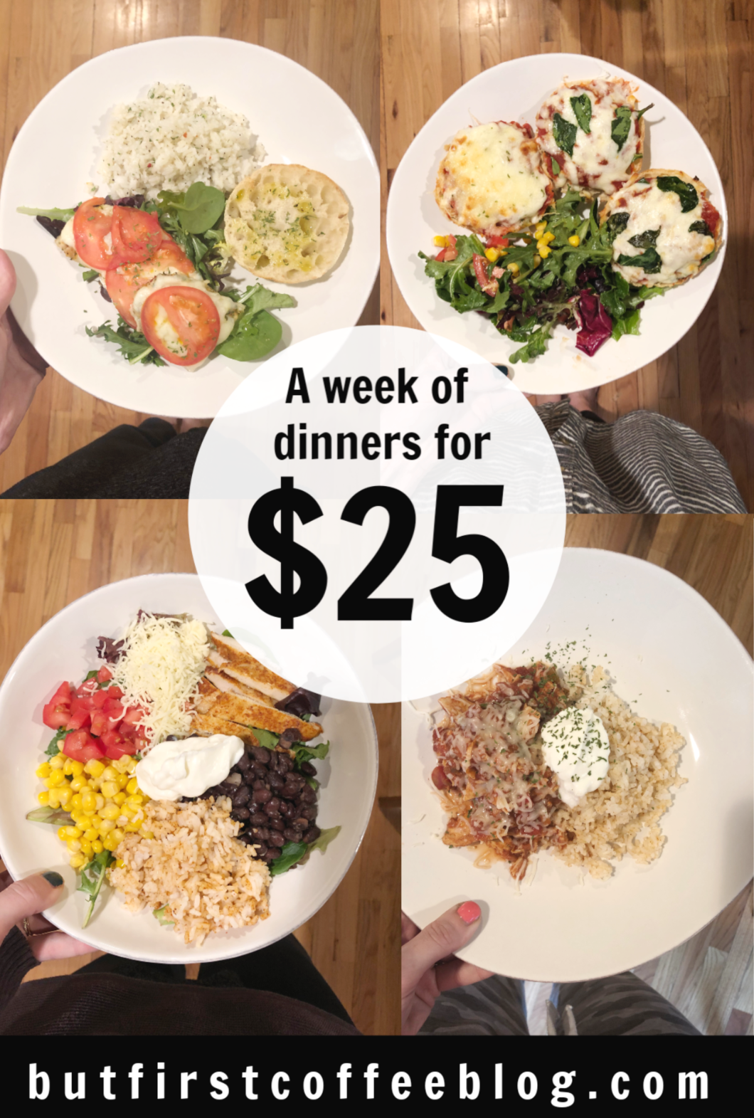 1 Week of Dinners for $25