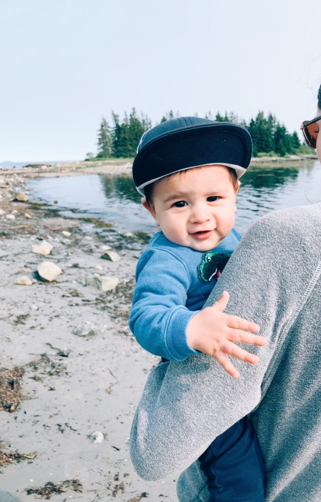 New England Mom Blog| Road Trip with a Baby