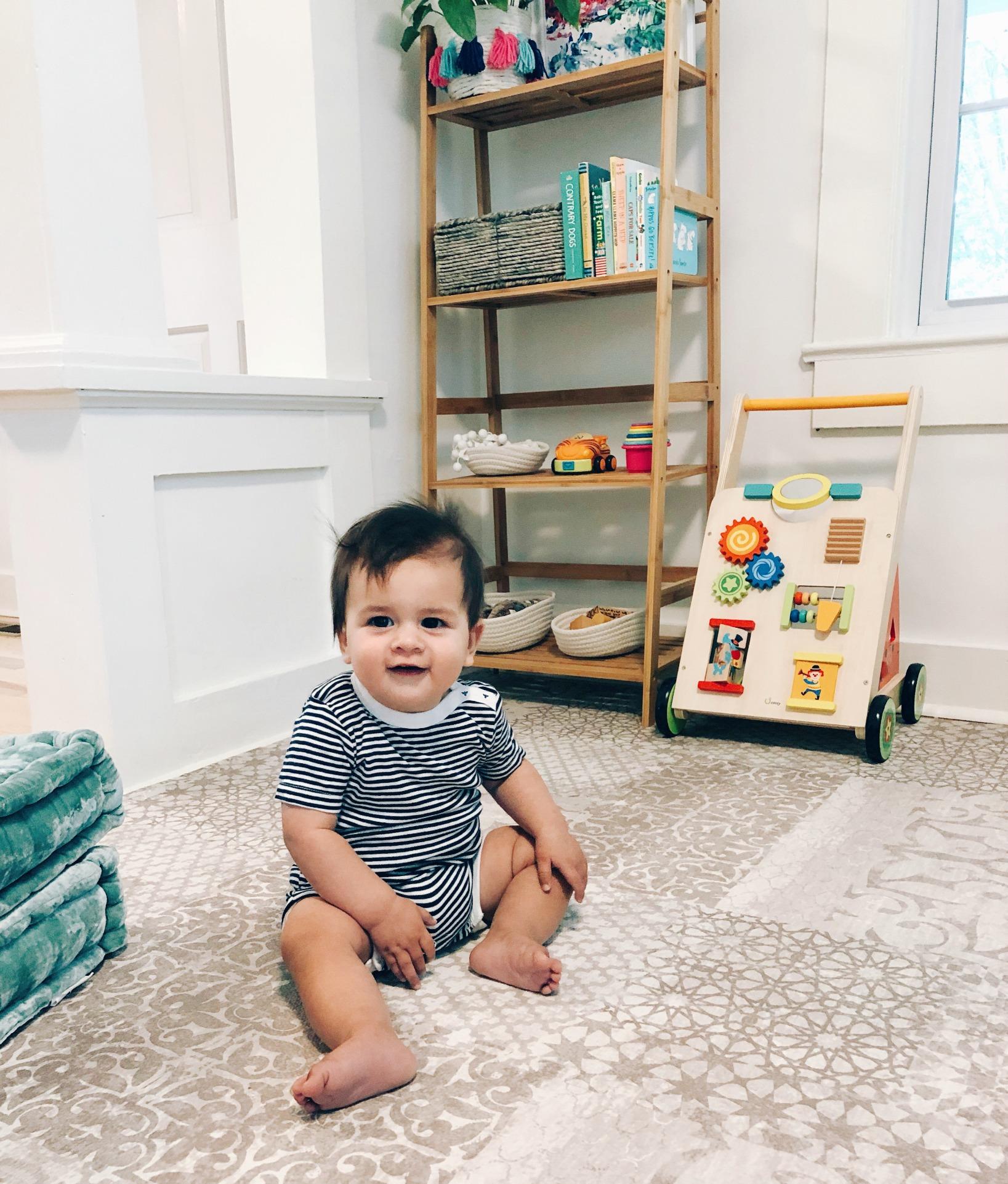 Baby Play Corner In Living Room Organization Ct Motherhood Blog