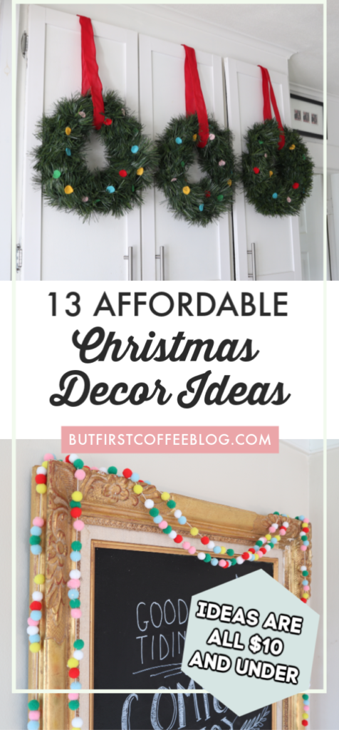 13 Super Affordable Christmas Decor Ideas