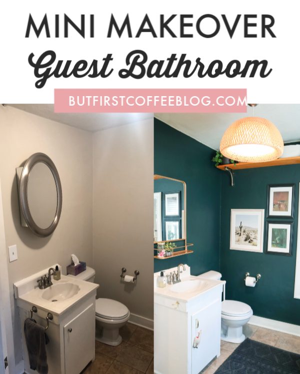 Guest Bathroom Mini-Makeover