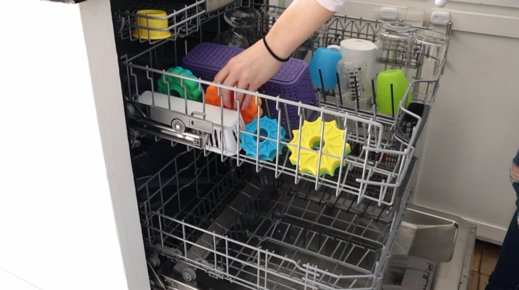 Lazy Cleaning Hacks | Clean toys in the dishwasher