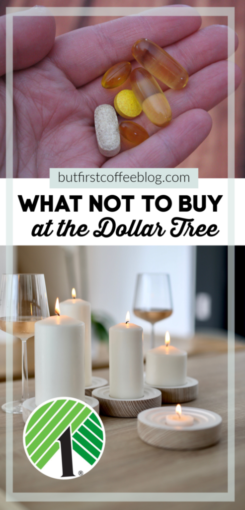 What Not to Buy at the Dollar Tree