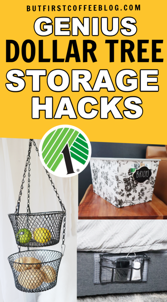 Clever Dollar Tree Storage Ideas