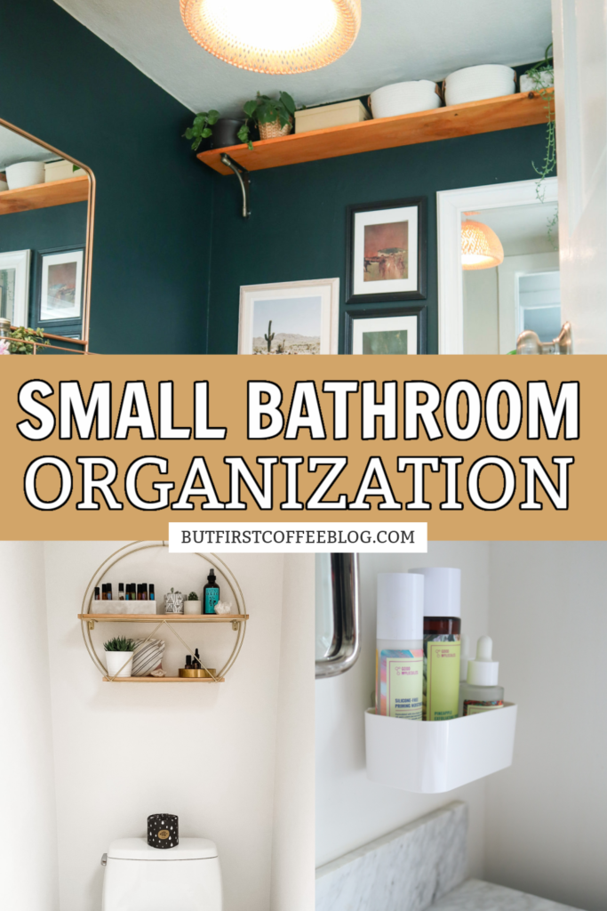 Small Bathroom Organization Ideas But First Coffee Connecticut Lifestyle And Motherhood Blog