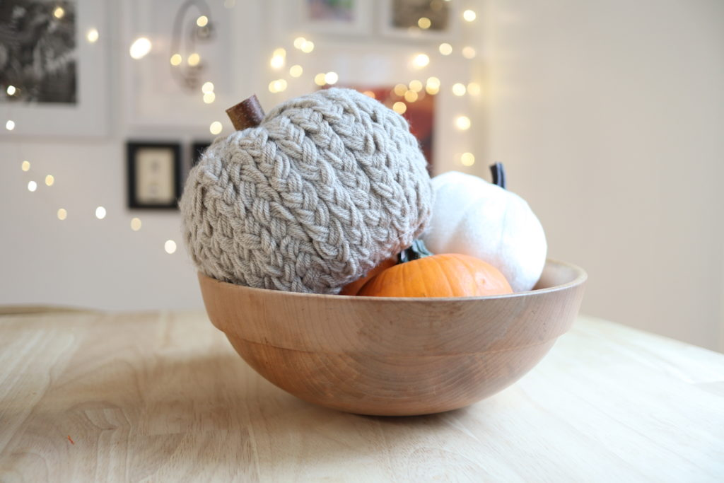 Dollar Tree Yarn Pumpkins But First Coffee Connecticut Lifestyle And Motherhood Blog